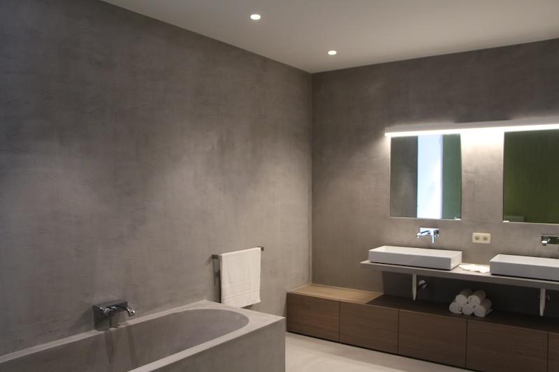 Tadelakt In Badkamer : Inspiratiebeeld badkamer interesse in tadelakt leem